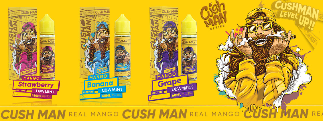 Nasty Juice Cush Man Series