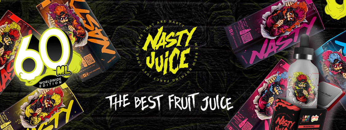 Nasty Juice 60 ML Worldwide Edition