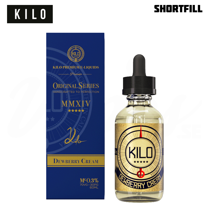 Kilo - Dewberry Cream (50 ml, Shortfill)