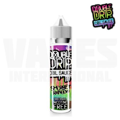 Double Drip - Sherbet Rainbow (50 ml, Shortfill)