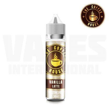 The Coffee House - Vanilla Latte  (50 ml, Shortfill)