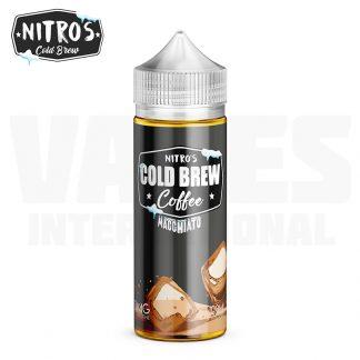 Nitro's Cold Brew – Macchiato (100 ml, Shortfill) 1