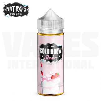 Nitro's Cold Brew – Strawberi & Cream (100 ml, Shortfill) 1