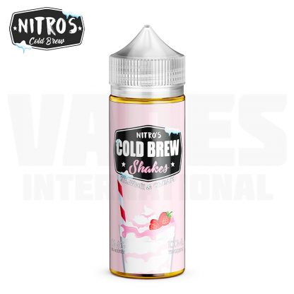 Nitro's Cold Brew - Strawberi & Cream (100 ml, Shortfill)