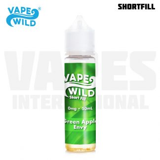 Vape Wild – Green Apple Envy (50 ml, Shortfill) 1