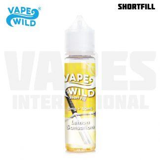 Vape Wild – Lemon Sansation (50 ml, Shortfill) 1