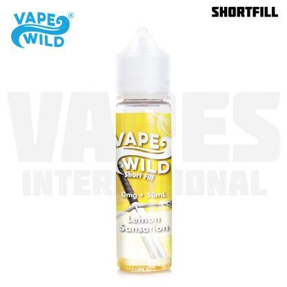 Vape Wild - Lemon Sansation (50 ml, Shortfill)