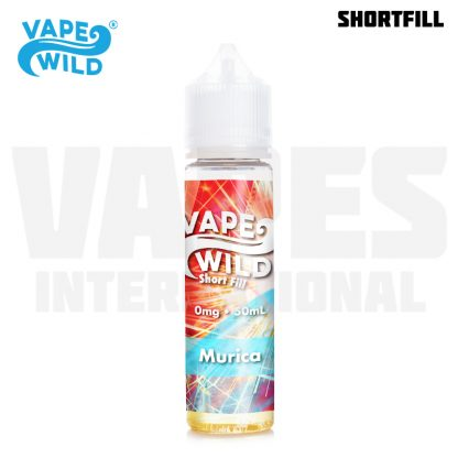 Vape Wild - Murica (50 ml, Shortfill)