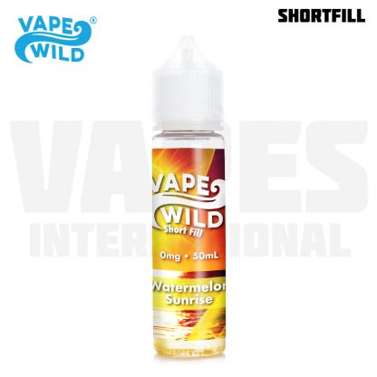 Vape Wild - Watermelon Sunrise (50 ml, Shortfill)