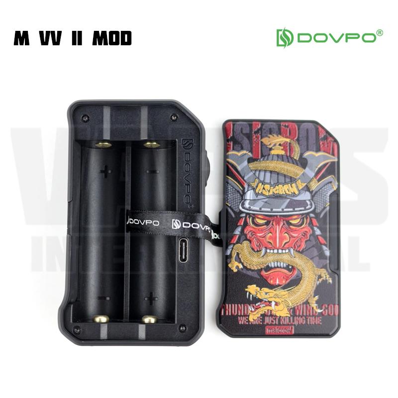 Dovpo M VV II Battery Open