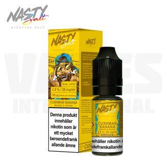 Nasty Juice – Cushman Banana (10 ml, 20 mg Nikotinsalt)