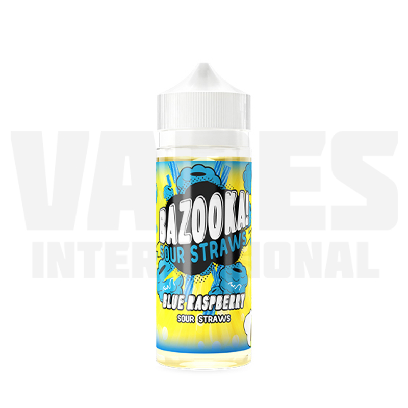 Bazooka Sour Straws - Blue Raspberry