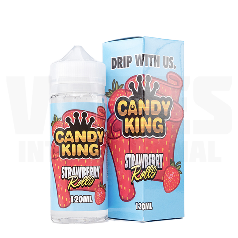 Candy King Strawberry Rolls