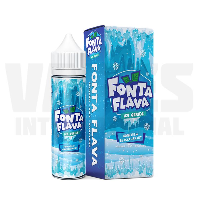 Fonta Flava ICE - Honeydew Blackcurrant