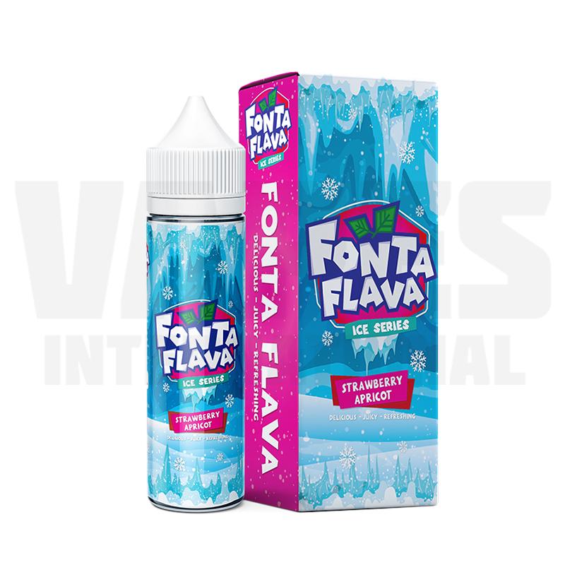 Fonta Flava ICE - Strawberry Apricot