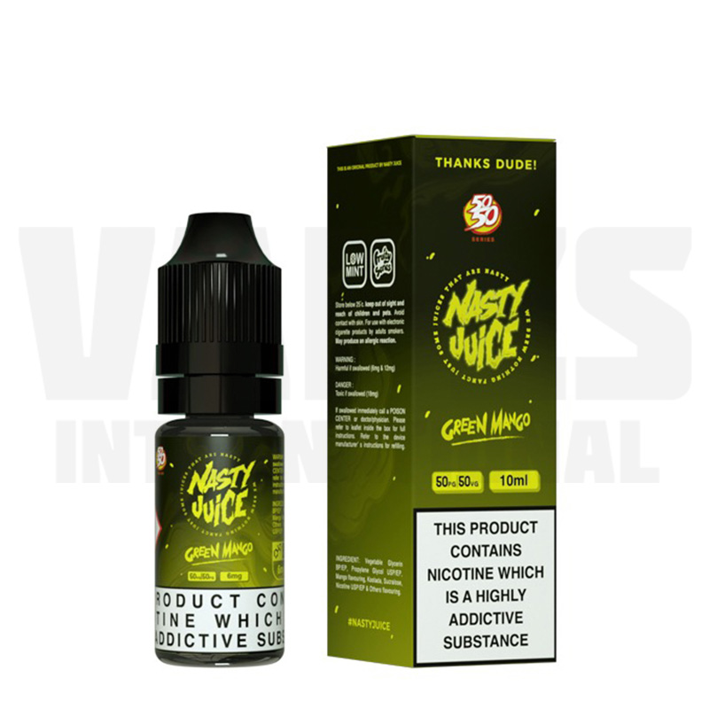 Nasty Juice - green mango vape juice
