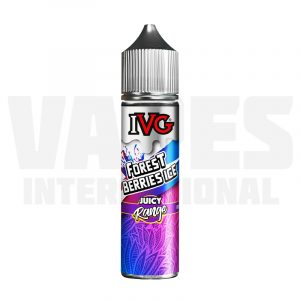 IVG Juicy - Forest Berries Ice