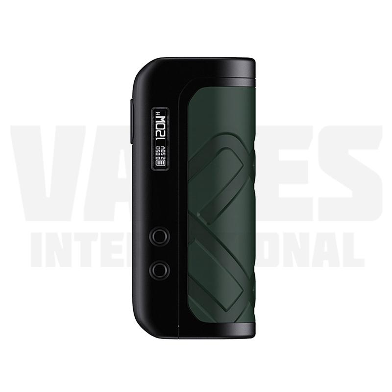 Foxy One Mod Black Green Leather
