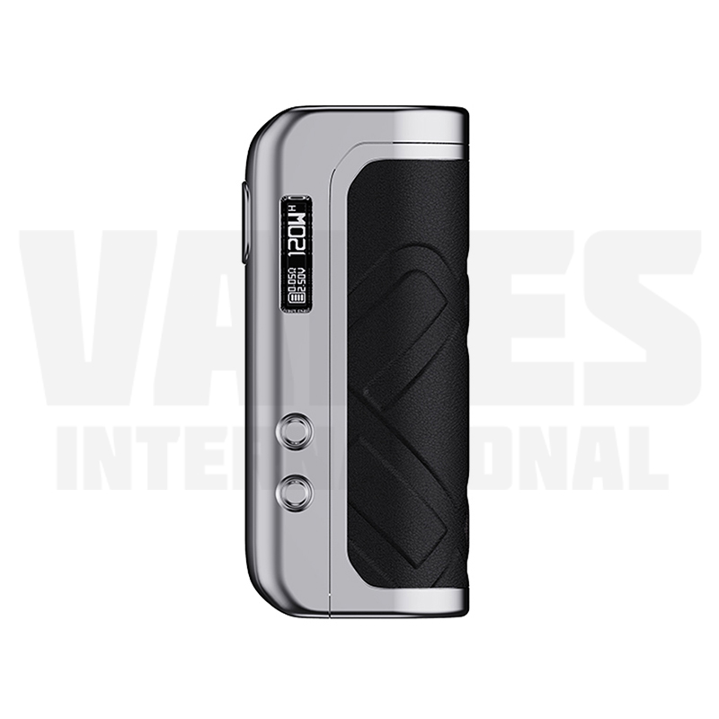 Foxy One Mod Silver Black Leather