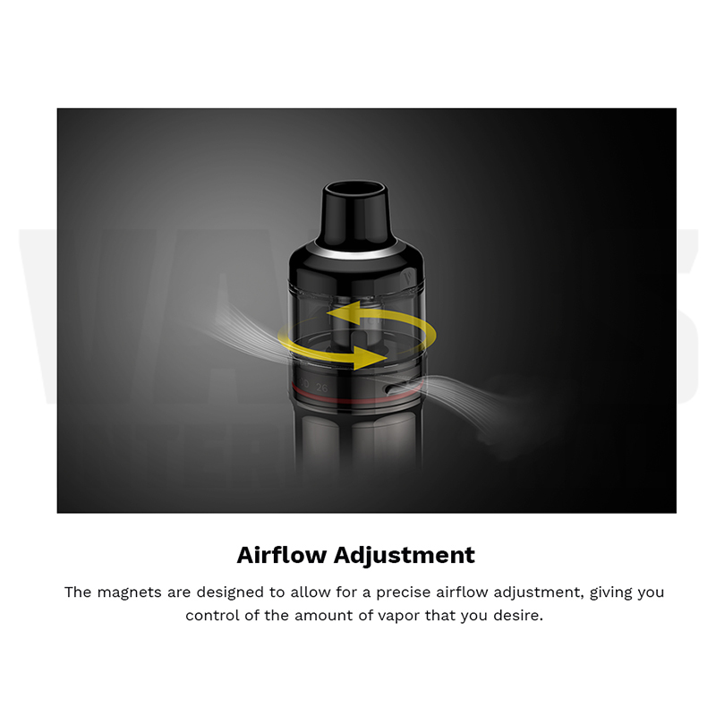 Vaporesso GTX GO 40 Airflow Adjustment