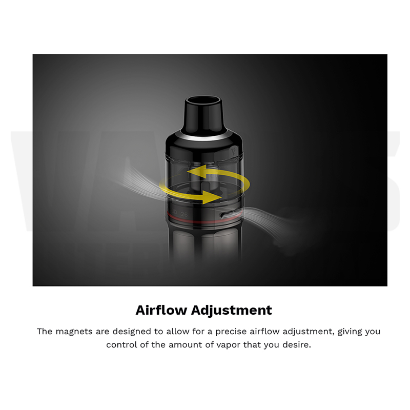 Vaporesso GTX GO 80 Airflow Adjustment