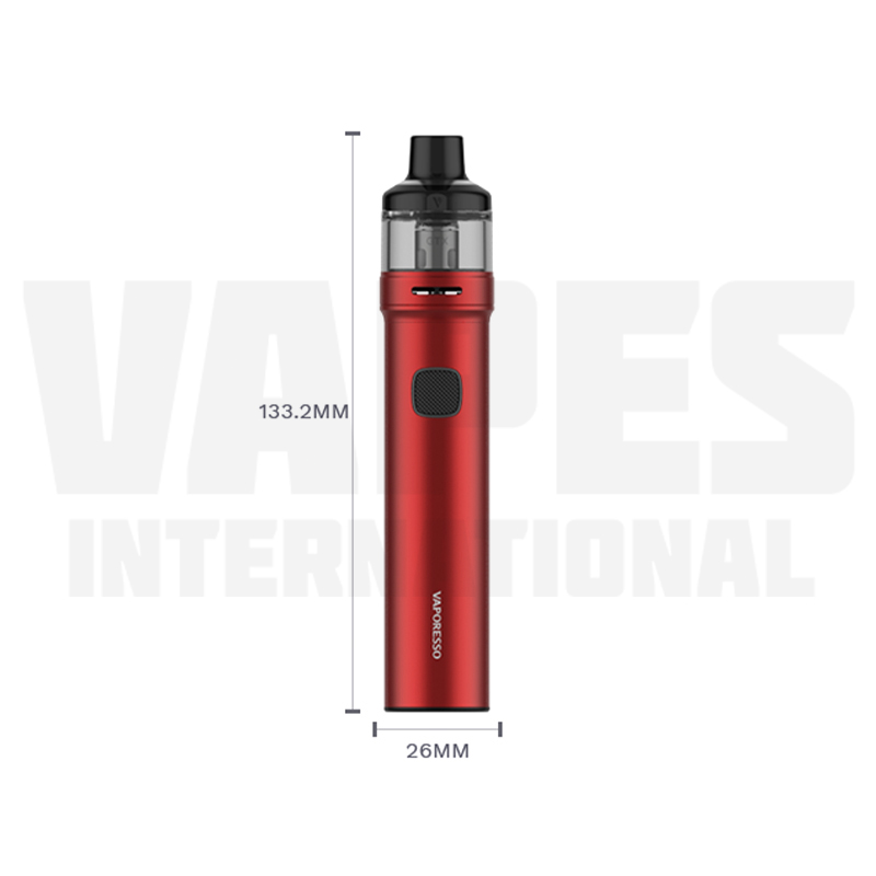 Vaporesso GTX GO 80 Size