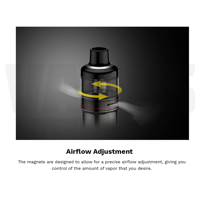 Vaporesso GTX Pod Airflow Adjustment