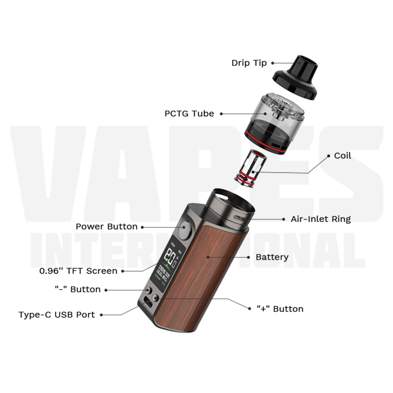 Vaporesso Luxe 80S Overview