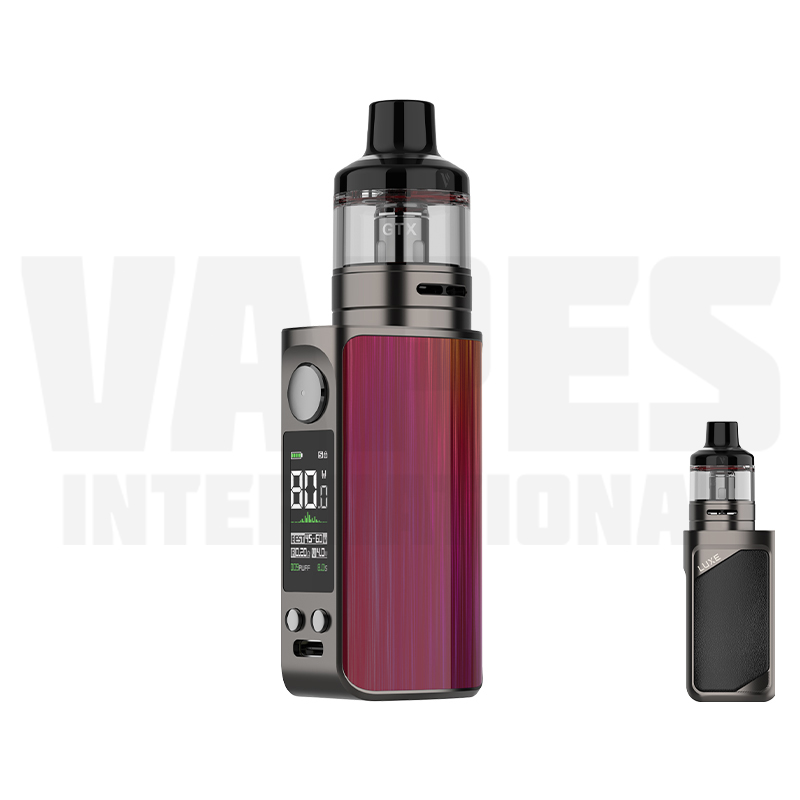 Vaporesso Luxe 80S Steel Red