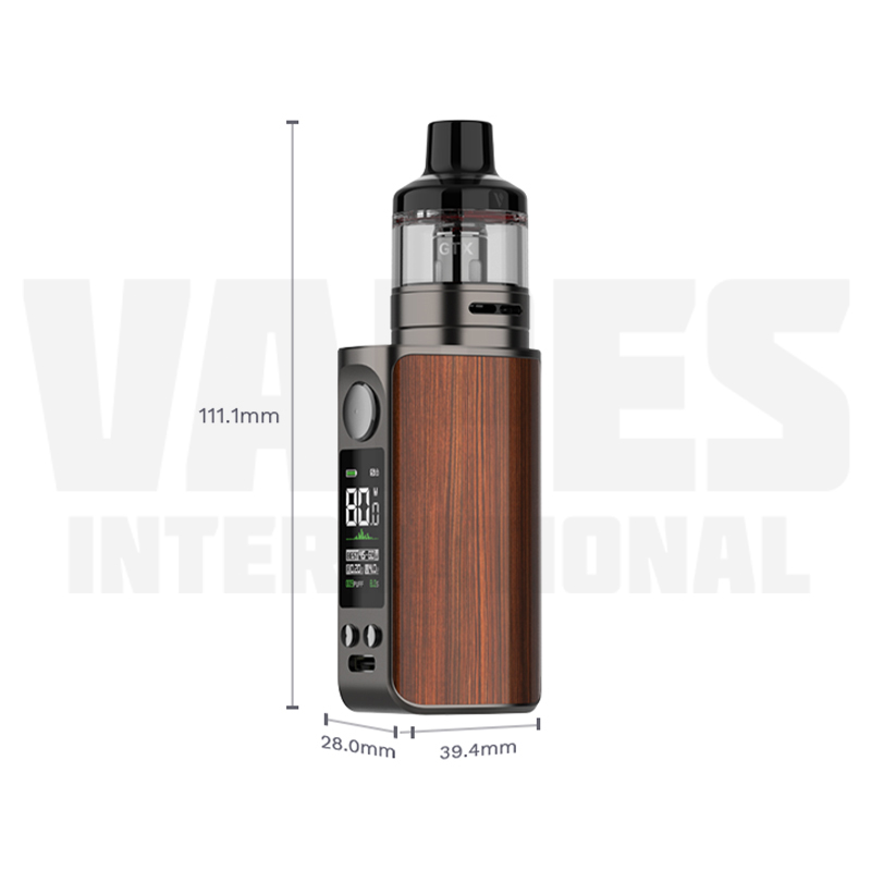 Vaporesso Luxe 80S Size