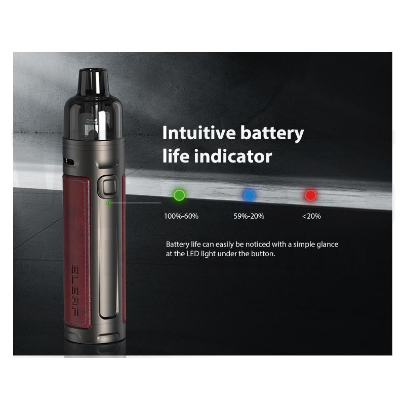 Eleaf iSolo R Battery Indicator