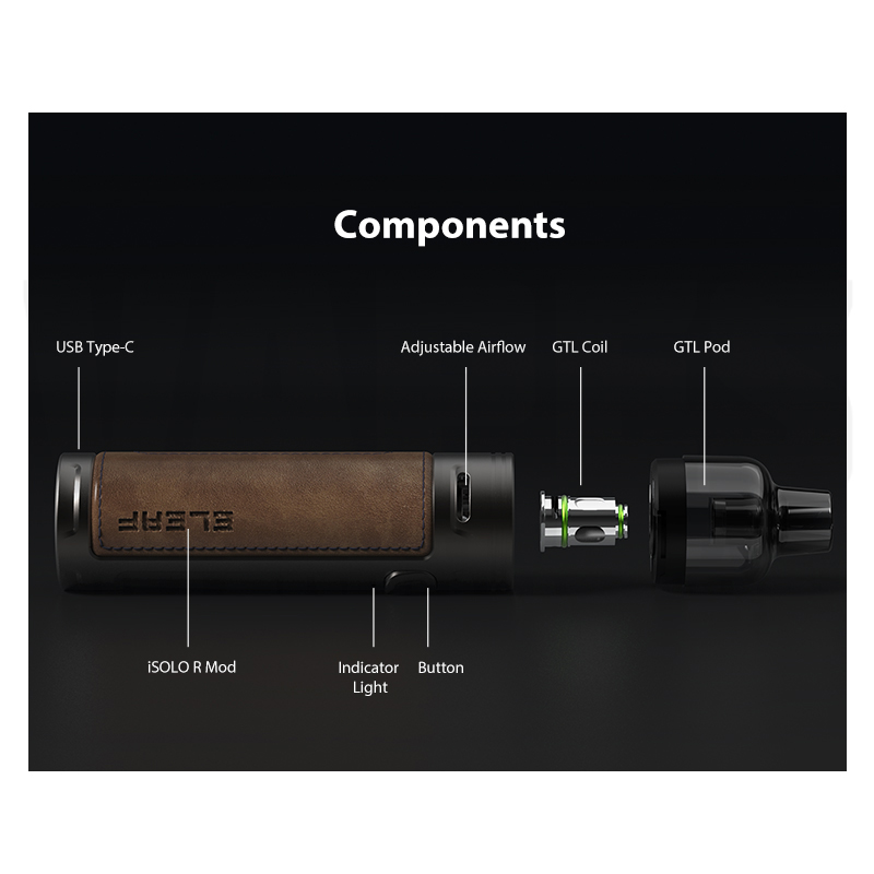 Eleaf iSolo R Components