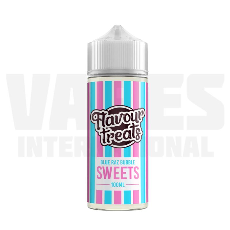 Flavour Treats - Blue Raz Bubble
