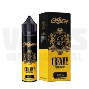 Ossem Creamy - Royal Caramel Vanilla Wafer (50 ml, Shortfill)