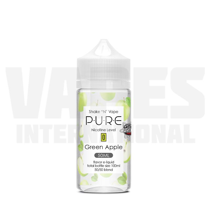 P.U.R.E. - Green Apple (50 ml, Shortfill)